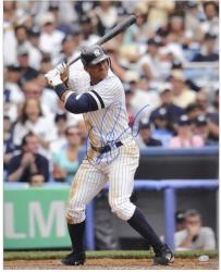 "Alex Rodriguez New York Yankees Autographed 16"" x 20"" Batting Photograph"