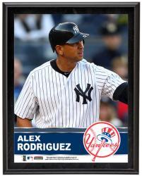 "Alex Rodriguez New York Yankees Sublimated 10.5"" x 13"" Plaque"