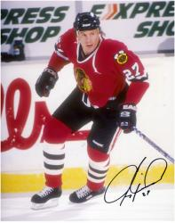 Jeremy Roenick Chicago Blackhawks Autographed 8'' x 10'' Pose Photograph - Mounted Memories
