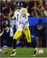 Pittsburgh Steelers Ben Roethlisberger 2x Super Bowl Champion Quarterback Autographed Photo - Mounted Memories