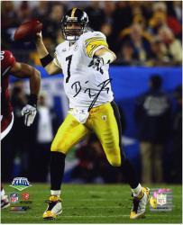Pittsburgh Steelers Ben Roethlisberger Super Bowl XLIII Champions Signed 8'' x 10'' Photo - Mounted Memories