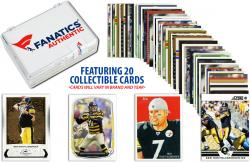 Ben Roethlisberger Pittsburgh Steelers Collectible Lot of 20 NFL Trading Cards - Mounted Memories
