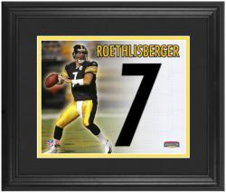 Pittsburgh Steelers Ben Roethlisberger Framed Jersey Number Collage - Mounted Memories