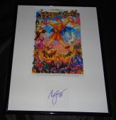 Roger Bart Signed Framed Hercules 11x14 Photo Display