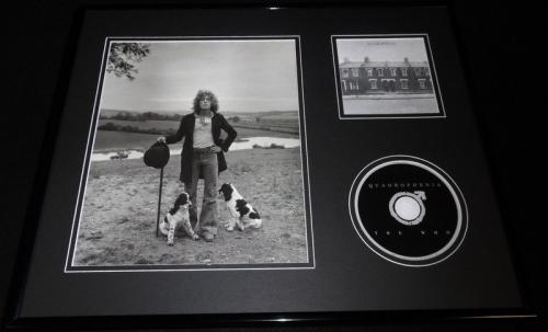 Roger Daltrey 16x20 Framed The Who Quadrophenia CD & Photo Display