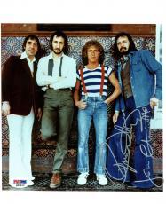 Roger Daltrey & John Entwistle The Who Signed 8X10 Photo PSA #Q45422