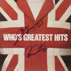 Roger Daltrey & Peter Townshend Autographed The Who Greatest Hits Album - PSA/DNA LOA