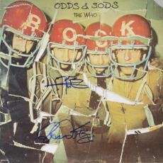 Roger Daltrey & Peter Townshend Autographed The Who Odds & Sods Album - PSA/DNA LOA