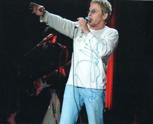 Roger Daltrey Signed Autograph 8x10 Photo - The Who Frontman, Rock Legend Jsa