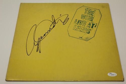 Roger Daltrey Signed Autograph Album Vinyl Record - The Who Live At Leeds Jsa