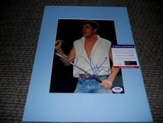 Roger Daltrey Signed Autographed 8x10 Matted Music Photo PSA Certified