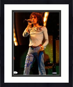 ROGER DALTREY Signed Autographed The WHO 11x14 Photo JSA #GG58597