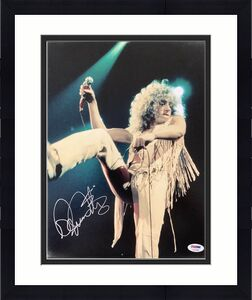 Roger Daltrey Signed Photo PSA/DNA 11x14 Pete Townshend The Who Autograph Poster