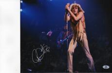Roger Daltrey THE WHO Autographed Signed 11x14 Photo Picture (BECKETT COA)