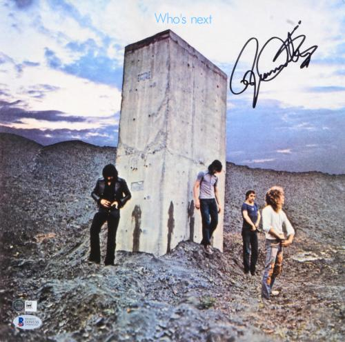 Roger Daltrey The Who Autographed Who's Next Album - BAS