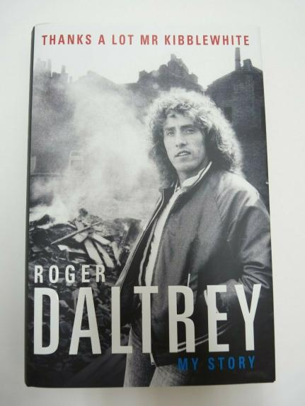 Roger Daltrey The Who Signed Autographed HB Book Beckett BAS Certified #1