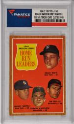 Roger Maris / Mickey Mantle New York Yankees 1962 Topps #53 Card