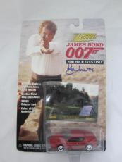 Roger Moore Authentic Signed Diecast 007 James Bond Auto Psa/dna X48540