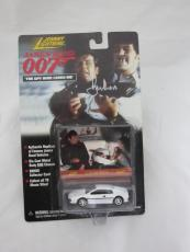 Roger Moore Authentic Signed Diecast 007 James Bond Auto Psa/dna X48543