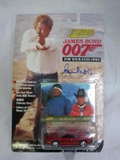 Roger Moore Authentic Signed Diecast 007 James Bond Auto Psa/dna X48544