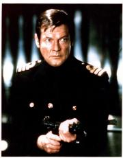 Roger Moore Autographed Signed 11x14 James Bond Photo AFTAL UACC RD COA