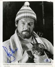 Roger Moore Ffolkes Vintage Autographed Signed 8x10 Photo Certified BAS COA