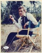 ROGER MOORE HAND SIGNED 8x10 COLOR PHOTO     AWESOME+RARE    JAMES BOND      JSA
