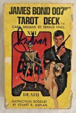 Roger Moore James Bond 007 Signed 007 TAROT DECK AUTOGRAPHED  BAS BECKETT COA