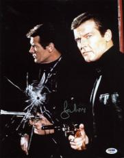 Roger Moore James Bond 007 Signed 11X14 Photo Autographed PSA/DNA 1