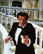 Roger Moore James Bond 007 Signed 11X14 Photo Autographed PSA/DNA 2
