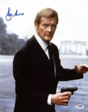 Roger Moore James Bond 007 Signed 11X14 Photo Autographed PSA/DNA 3