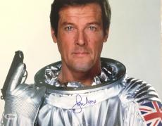 Roger Moore James Bond 007 Signed Authentic 11X14 Photo Autographed BAS COA #11