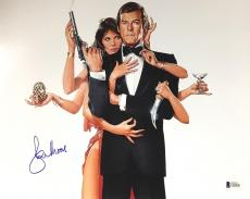 Roger Moore James Bond 007 Signed Authentic 11X14 Photo Autographed BAS COA #15
