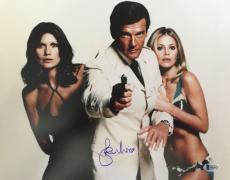 Roger Moore James Bond 007 Signed Authentic 11X14 Photo Autographed BAS COA #2