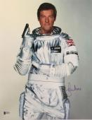 Roger Moore James Bond 007 Signed Authentic 11X14 Photo Autographed BAS COA #7