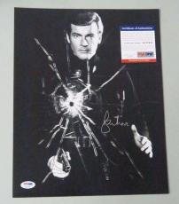 Roger Moore James Bond 007 Signed Psa/dna 11x16 Photo Authenticated Autograph