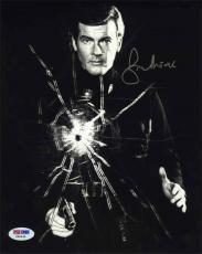 Roger Moore James Bond Autographed Signed 8x10 Photo Certified PSA/DNA COA