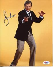 Roger Moore James Bond Rare Signed Autograph Photo PSA DNA COA