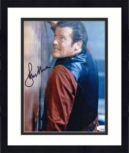Roger Moore JSA Coa Signed 8x10 James Bond 007 Photo Autograph