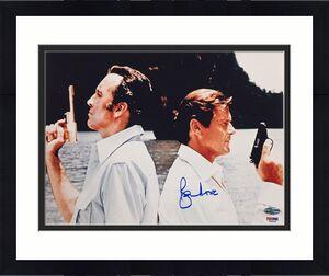 ROGER MOORE Man with the Golden Gun signed James Bond 11x14 Photo ~ PSA/DNA COA