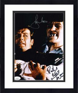 ROGER MOORE RICHARD KIEL JSA Coa Hand Signed 8x10 James Bond Photo Autograph