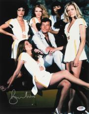 "ROGER MOORE SIGNED 11x14 JAMES BOND 007 ""MOONRAKER"" PROMO PHOTO w/ PSA-DNA COA"