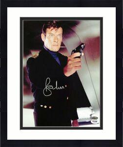 SIR ROGER MOORE Signed 11x14 Photo #2 James Bond 007 Autograph w/ PSA/DNA COA