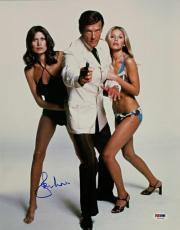 Roger Moore Signed 11x14 Photo #3 James Bond 007 Autograph w/ PSA/DNA COA
