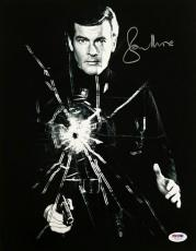 Roger Moore Signed 11x14 Photo #8 James Bond 007 Autograph w/ PSA/DNA COA