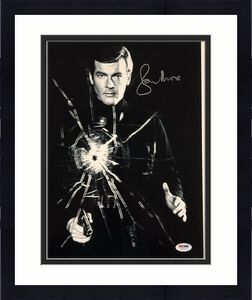 Roger Moore Signed 11x14 Photo #8 James Bond 007 Autograph w/ PSA/DNA COA Auto