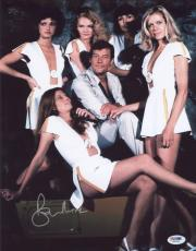 Roger Moore Signed 11x14 Photo Auto Psa/dna W41695