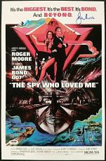 Roger Moore Signed 11x17 Photo THE SPY WHO LOVED ME James Bond 007 w/  PSA/DNA