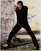 Roger Moore Signed 8x10 James Bond 007 photo auto #2 w/ Beckett BAS COA
