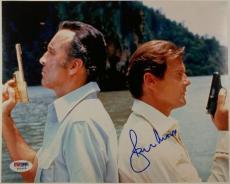Roger Moore Signed 8x10 James Bond 007 photo auto #5 Golden Gun w/ PSA/DNA COA